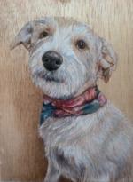 Lori Vogel Studios - Portrait on Wood